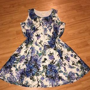 Blair Floral Dress Sz. 24W